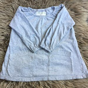 Mini Mioche grey top w/pockets - size 4T